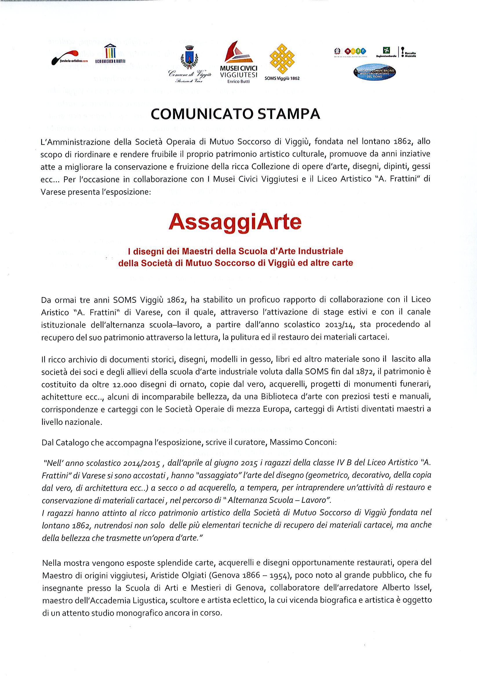High Quality AssaggiArte Mostra Dei Maestri Della Scuola Du0027Arte Industriale